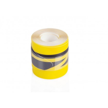 PROTETOR DE BORDA RAILSAVER AMARELO/PRETO STRIPES